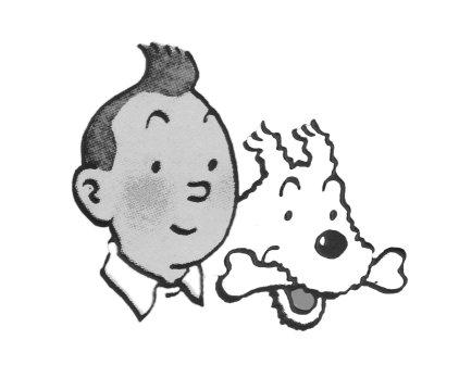 Tintin & Snowy